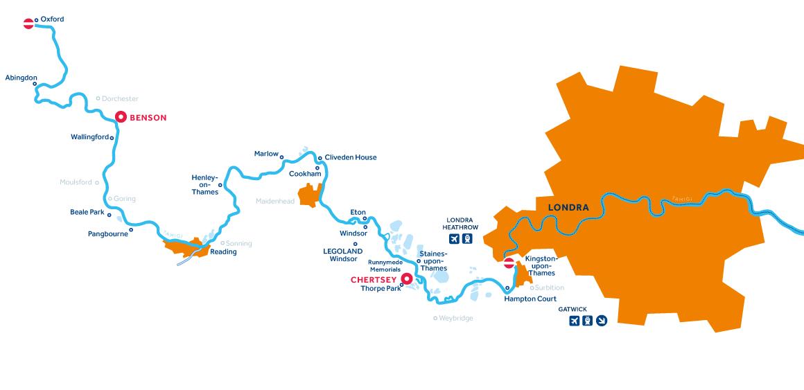 Mappa: Tamigi