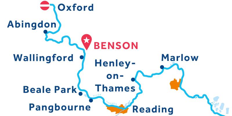 Benson ANDATA E RITORNO via Oxford e Henley