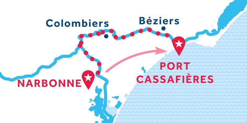 Narbonne - Port Cassafières