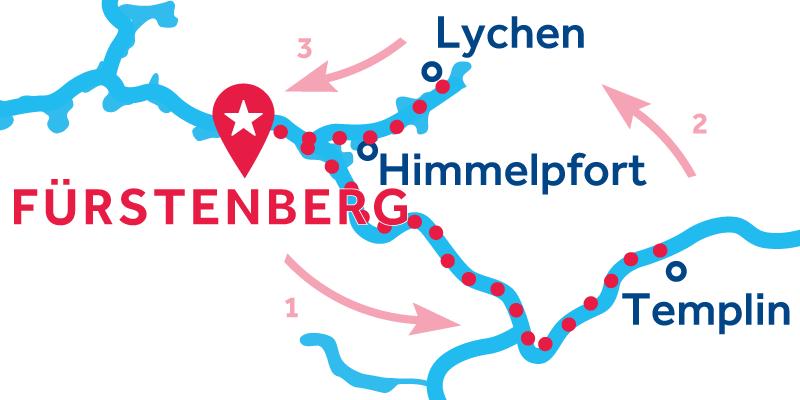 Fürstenberg ANDATA E RITORNO via Templin