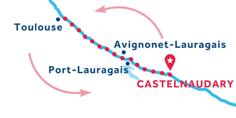 Castelnaudary Andata e ritorno
