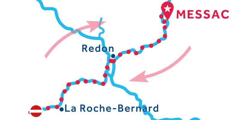 Messac ANDATA E RITORNO via La Roche-Bernard