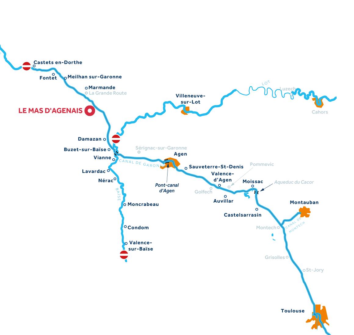 Mappa: Aquitania