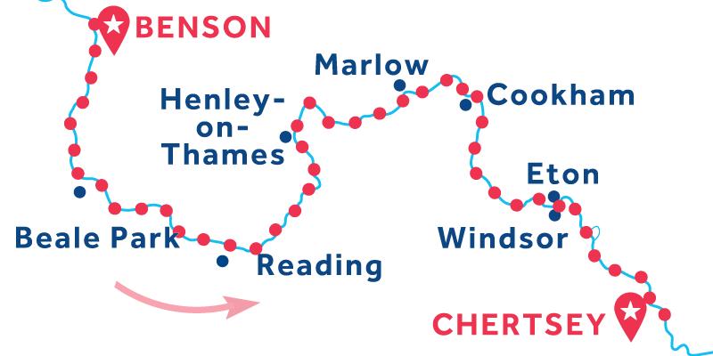 Da Benson a Chertsey