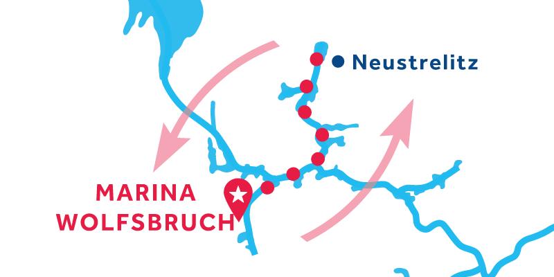 Marina Wolfsbruch ANDATA E RITORNO via Neustrelitz