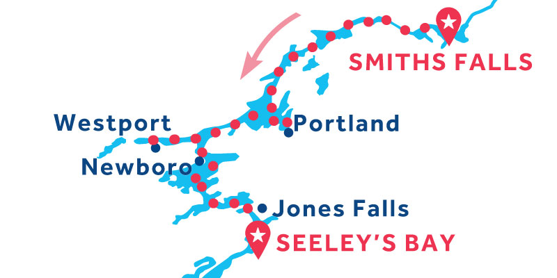 Da Seeley's Bay a Smiths Falls
