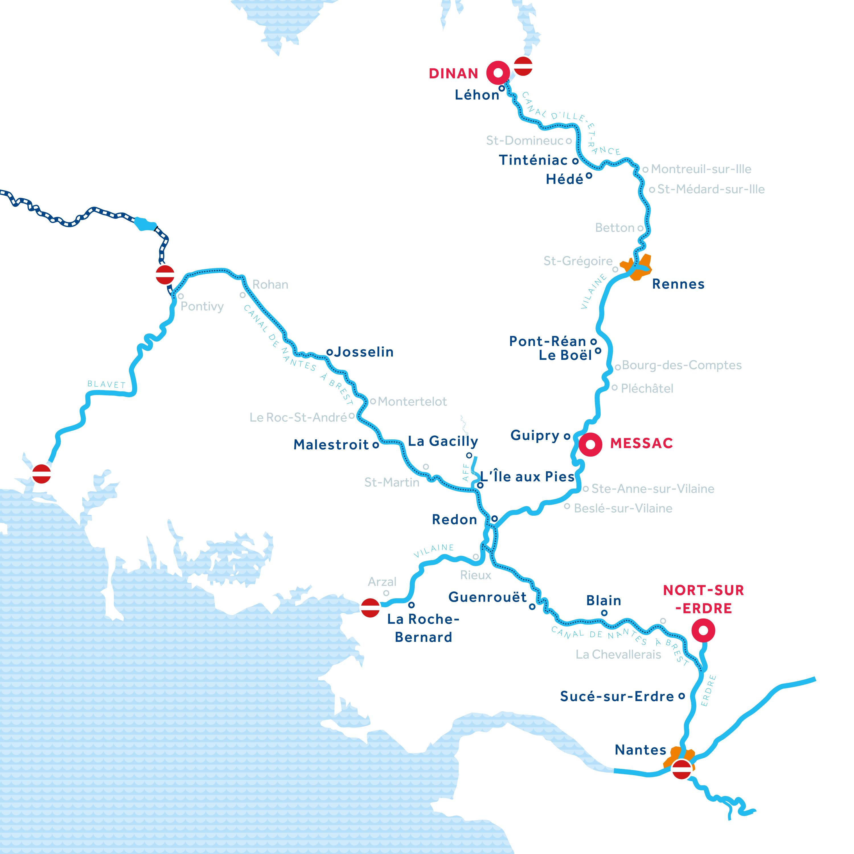 Mappa: Bretagna