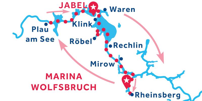 Marina Wolfsbruch ANDATA E RITORNO via Plau em See e Rheinsberg