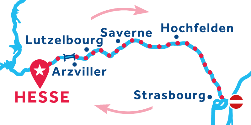 Hesse ANDATA E RITORNO via Strasburgo