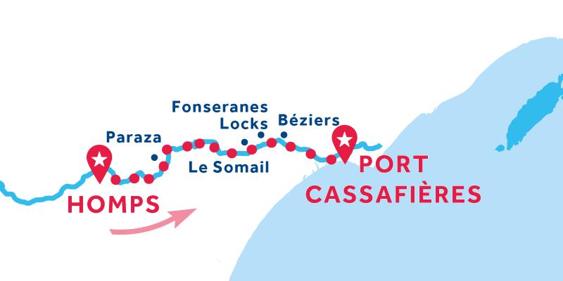 Homps - Port Cassafières