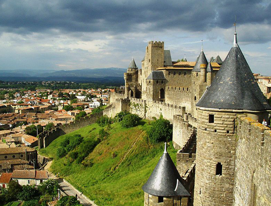 Carcassonne - Canal du Mid