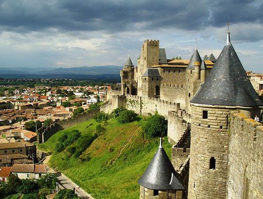 La cittadella di Carcassonne