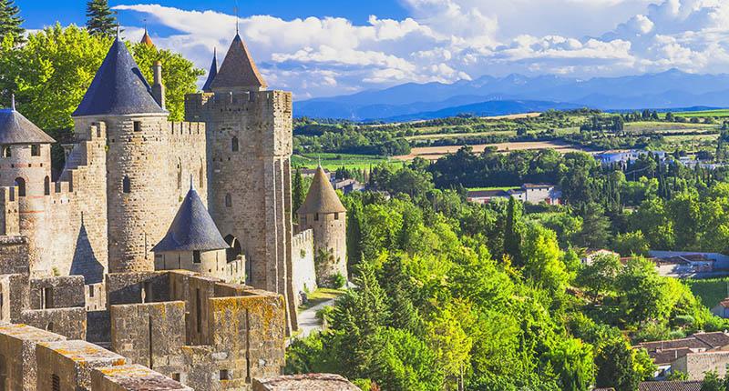 Carcassonne - Canal du Midi