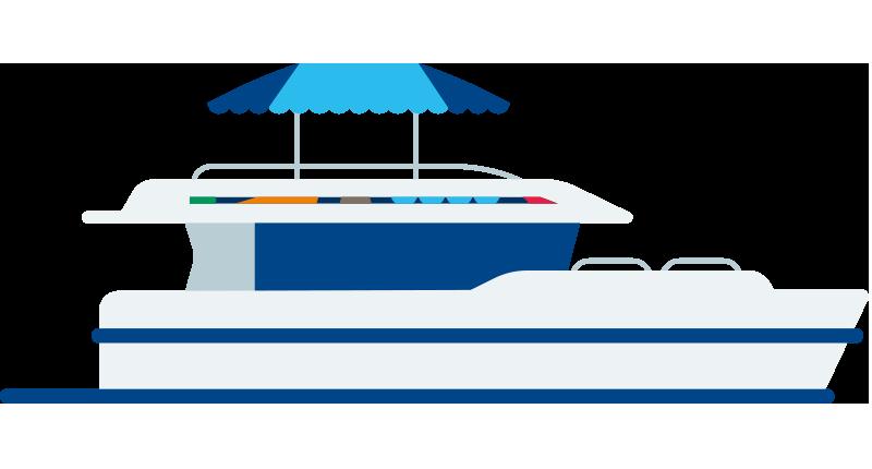 Icona barca Horizon