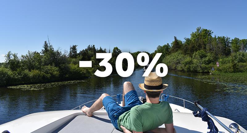 30% di sconto sulle partenze a settembre