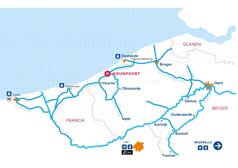 Mappa: Fiandre