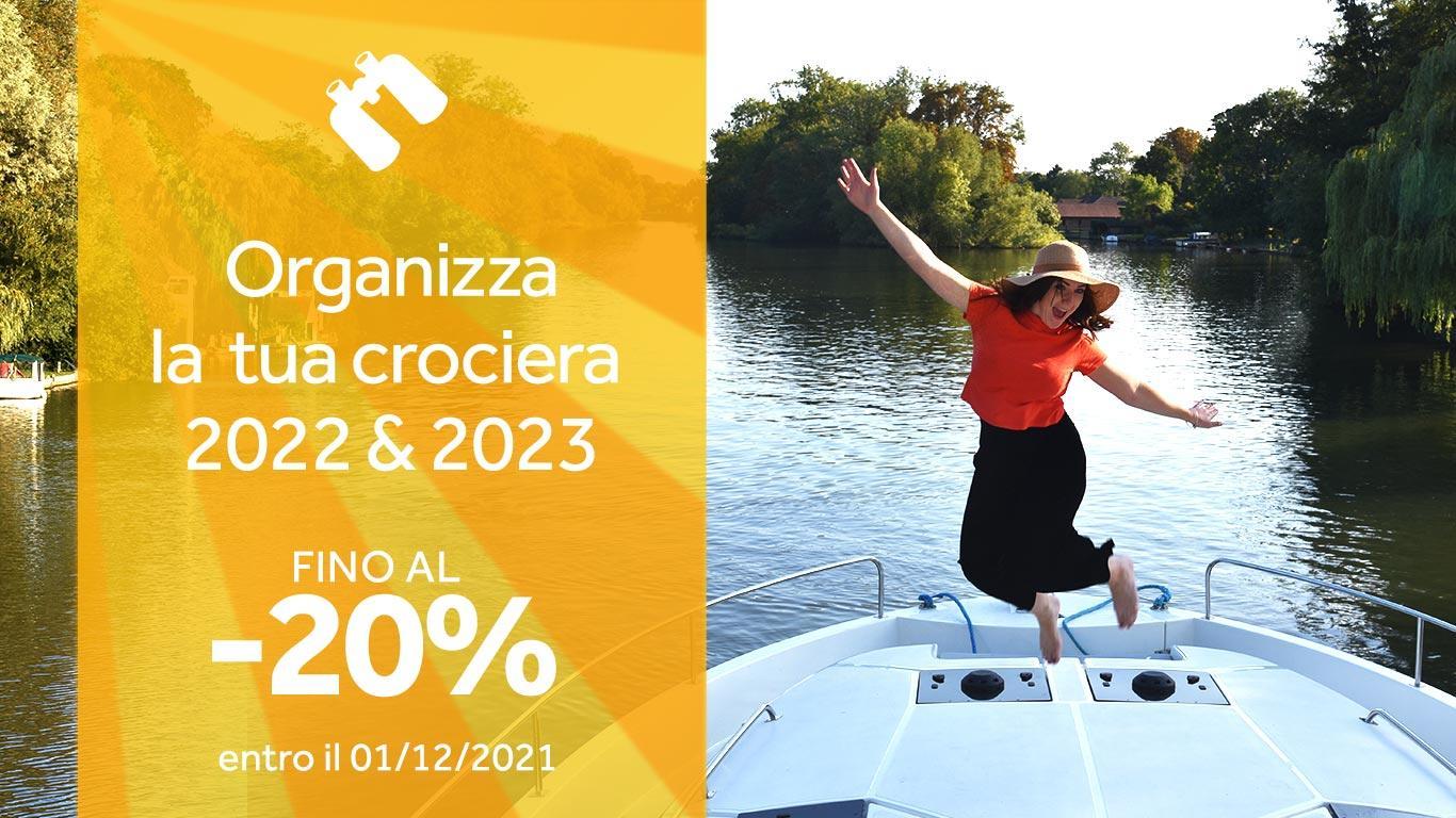 La tua crociera in barca nel 2022 e 2023