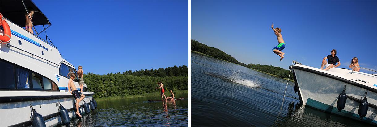 Nuoto e bagno nel Brandeburgo e nel Meclemburgo