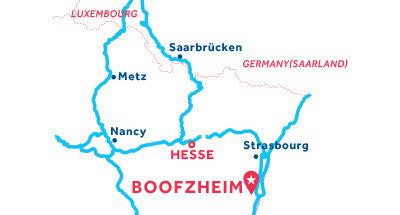 Piantina della base di Boofzheim