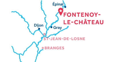 Piantina della base di Fontenoy-le-Château