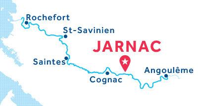 Piantina della base di Jarnac