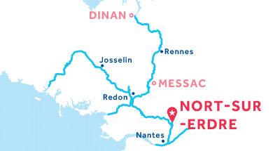 Piantina della base di Nort-sur-Erdre