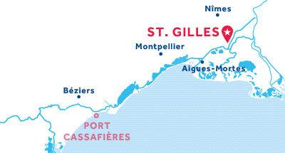 Piantina della base di St. Gilles