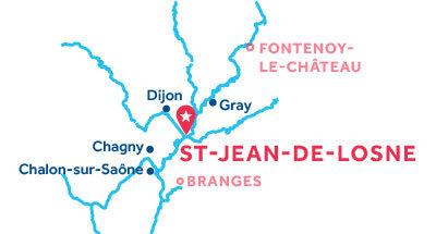Piantina della base di Saint-Jean-de-Losne
