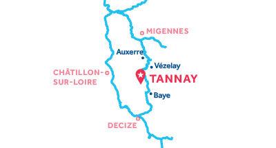 Piantina della base di Tannay