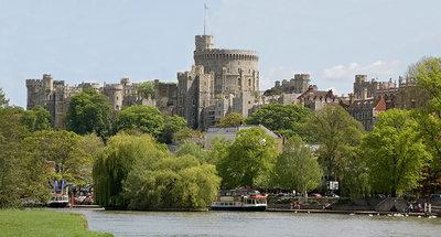 Windsor dal fiume Tamigi