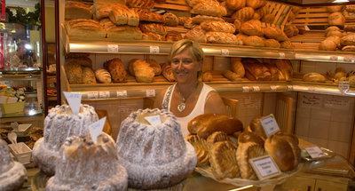Panetteria francese tradizionale