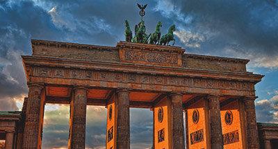 Paesaggio urbano di Berlino