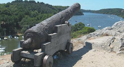 Cannone in Bretagna