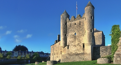 Castello di Enniskillen in Irlanda