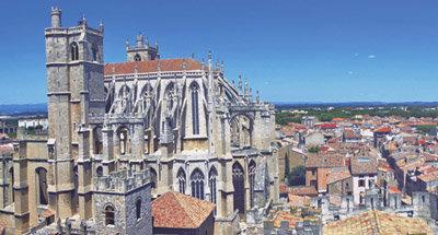 Cattedrale sul Canal du Midi