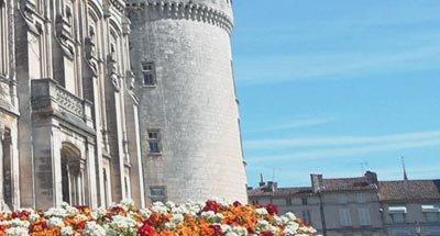 Castello e fiori, Charente
