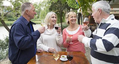 Degustazione di vini in Borgogna