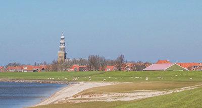 Laghi e campi in Olanda