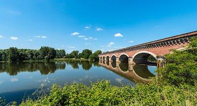 Ponte storico a Nérac