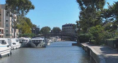 BarcaVision sul Canal du Midi