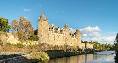 Castello di Josselin in Bretagna