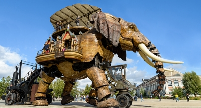 Elefante meccanico a Nantes