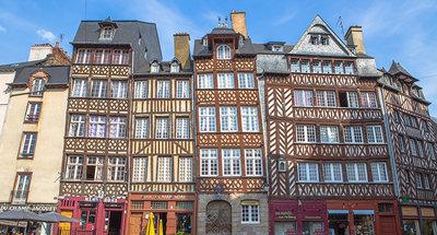 Case a graticcio medievali a Rennes