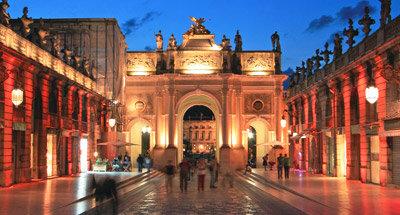 PiazzaStanislas di notte, Nancy