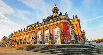 Palazzo di Sanssouci a Potsdam