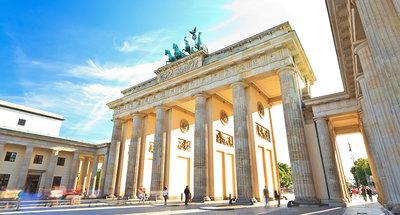 Gli archi storici della Porta di Brandeburgo