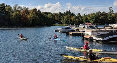Sport acquatici sul Canale Rideau