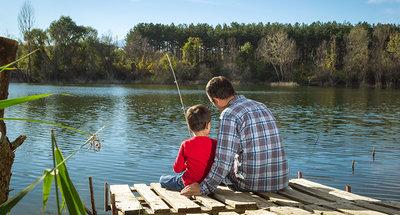 Rilassatevi pescando