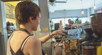Caffetteria a Perth, Ontario, Canada