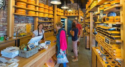 Boutique di formaggi a Edam